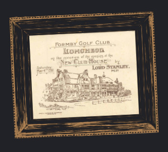 1901 - Opening of current clubhouse built at a cost of £700